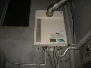 給湯器の交換工事