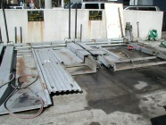 機械式駐車装置 解体工事1