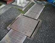 グレーチング落葉防止加工の施工後2