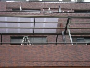 バルコニー屋根交換工事