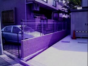 ブロック壁フェンス工事