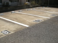 駐車場解体後、平置き駐車場へ改修