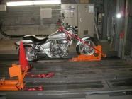 バイク固定装置Rincam設置工事