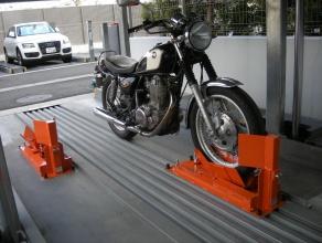 バイク固定装置RinCamの使用例3