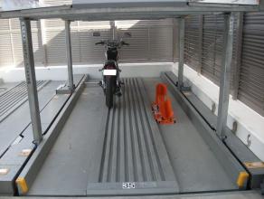 バイク固定装置RinCamの使用例4