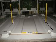 機械式駐車装置の塗装工事