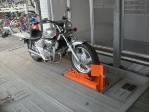 バイク固定装置RinCamの使用例5