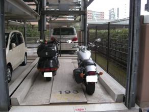 バイク固定装置RinCamの使用例7