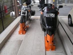 バイク固定装置RinCamの使用例8
