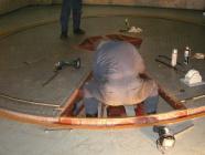 ターンテーブル部品交換工事を施工
