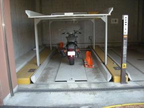 バイク固定装置RinCamの使用例9