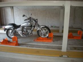バイク固定装置RinCamの使用例10
