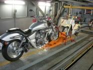 バイク固定装置Rincam2基設置工事