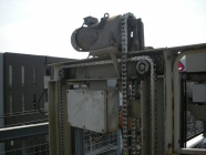 機械式駐車装置 チェーン部品の交換工事