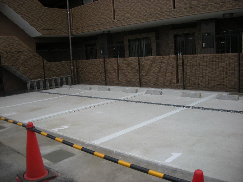 機械式駐車装置施工後